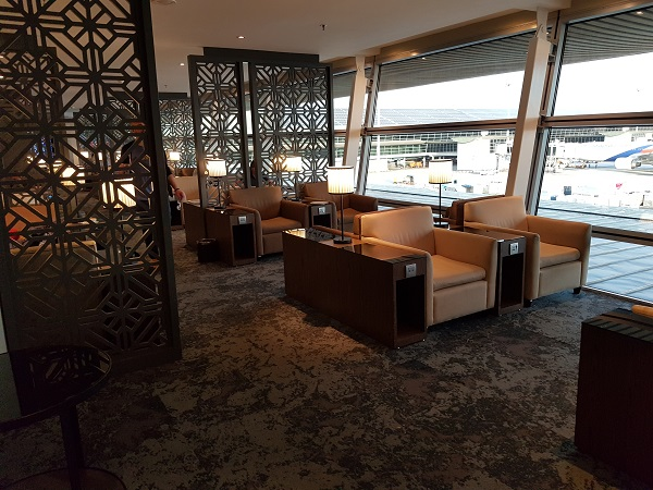 Malaysia Airlines Golden Lounge KLIA 1