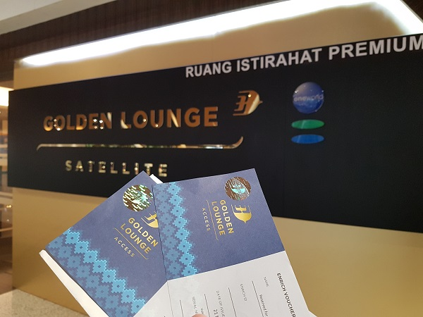 Malaysia Airlines Golden Lounge KLIA CIMB Voucher