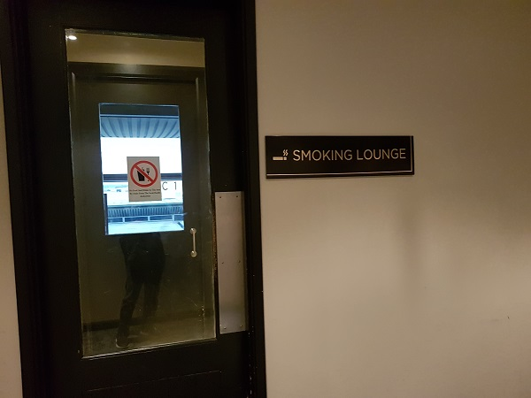 Malaysia Airlines Golden Lounge KLIA Smoking Room 1