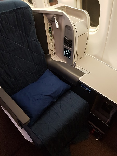 GenX Live Travel Report Malaysia Airlines Business Class Melbourne to KL 8