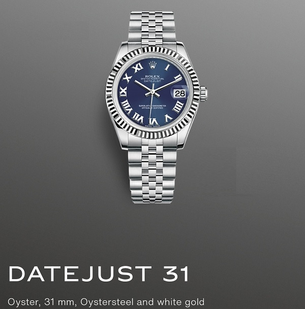 Rolex DateJust 31mm Stainless Steel 1