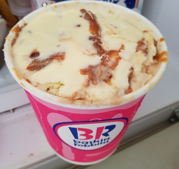 Baskin Robbins Pralines and Cream