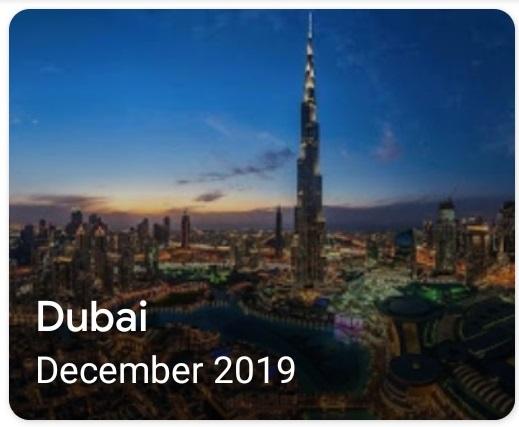 GenX Travels Dec 2019 Dubai
