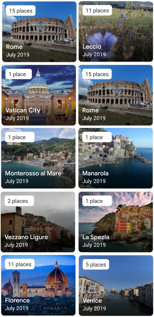 GenX Travels July 2019 Italy