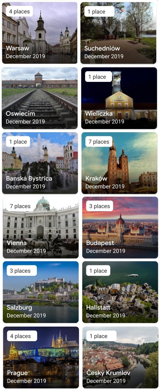 GenX Travels Nov DEc 2019 Eastern Europe