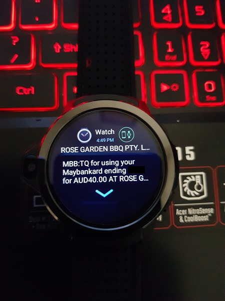 Kronos Blade Android Smartwatch Review Messages Notifications 2