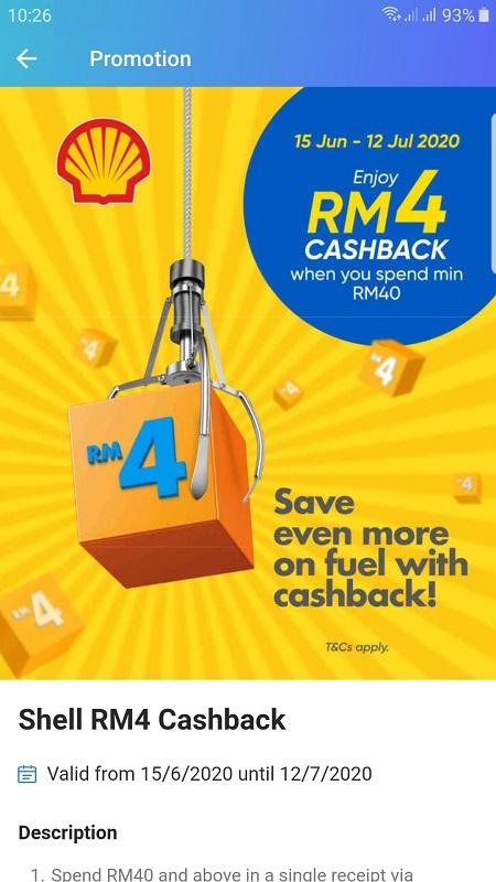 TnG Shell Promo 10% cash back