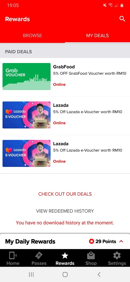Hotlink FREE Lazada and Grab eVoucher