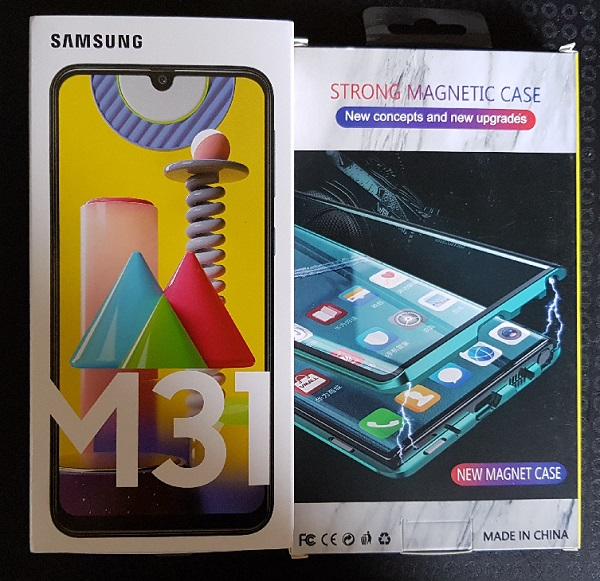 Samsung Galaxy M31 128GB 6000 mAh Battery Malaysia 2 Lazada